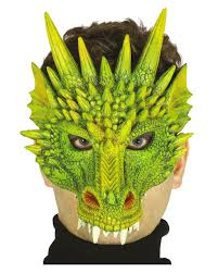 dragon half mask halloween costume accessories horror shop com