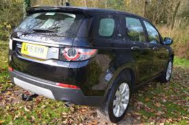 land rover discovery sport trunk space used land rover discovery sport sd4 hse luxury black 2 2 estate