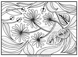 coloring pages abstract flowers flowers abstract
