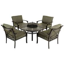 Patio Furniture Fire Pit Table Set - 23 garden furniture fire pit set garden furniture product hartman