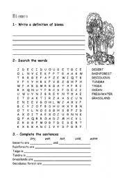 english worksheets the environment worksheets page 214