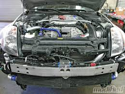 nissan 350z valve cover project nissan 350z oil cooling system install sending a life