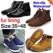 buy boots singapore buy winter boots mens shoes waterproof non slip dress shoes casual