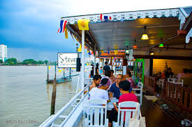 Riverside Light Show by Top 10 Restaurants In Riverside Bangkok Best Places To Eat In