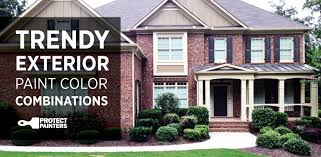 trendy exterior house paint combinations