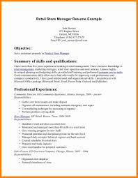 Forklift Duties Resume Skills For A Retail Resume Resume For Your Job Application