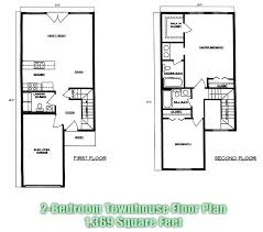 town house floor plans townhouse home plans pres model 1 townhouse style house plans