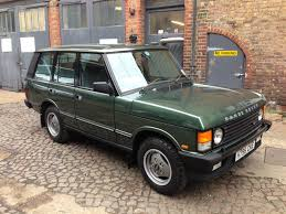 green land rover 1990 land rover range rover vogue auto restorationice