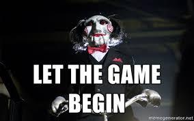 Saw Doll Meme - let the game begin parte02 douglas cos