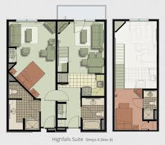 floor plans greek peak vacation ownership