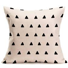Throws And Cushions For Sofas Romantic Pillow Case Cotton Linen Vintage Throw Cushion Cover Sofa