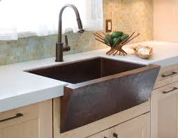 Best Sinks For Kitchen by Applying Copper Kitchen Sinks For Best Kitchen Sink Eva Furniture