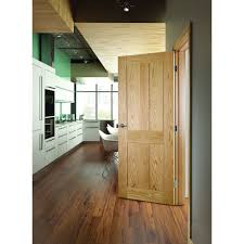 Oak Veneer Laminate Flooring Deanta Internal Eton Oak Veneer 4 Panel Shaker Door
