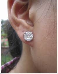 diamond earrings philippines 2 25 carat illusion white gold earrings ring set 14k