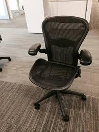 used herman miller aeron chairs size b