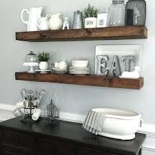 kitchen corner shelves ideas kitchen shelves ideas faux floating shelves is an easy solution for