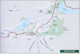 Whistler Canada Map by Tourist Map Of Whistler