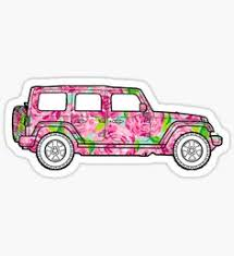 preppy decals trending stickers jeeps floral and laptop stickers