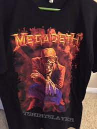 megadeth peace sells 25th anniversary tour shirt 2011