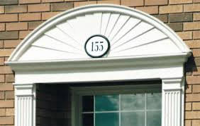 Exterior Door Pediment And Pilasters by Restored Front Door Pediment And Pilasters Rock Creek Craftsmen