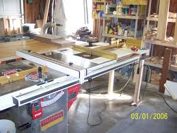 Table Saw Router Table Mounting A Router Top On A Tablesaw Extension