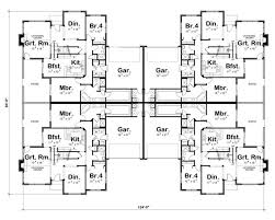 Multi Unit Apartment Floor Plans 26 Best Duplex U0026 Multiplex Plans Images On Pinterest Apartment