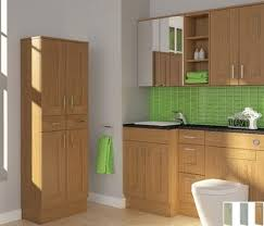 Bathroom Furniture Oak Fitted Bathroom Furniture Bathroom Cabinets And Storage