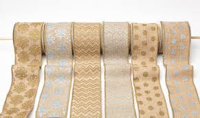 wholesale burlap ribbon 3 inch printed burlap ribbon may arts wholesale ribbon