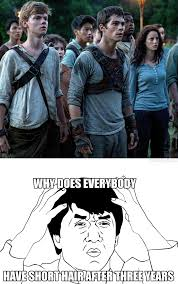 Runner Meme - was watching the maze runner when i suddenly realised by