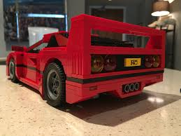 lego ferrari f40 ferrari f40 challenge u2026 accepted brick brains