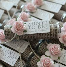 mint to be favors 16 unique wedding favor ideas rustic shabby chic favors and