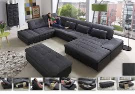 wohnlandschaft lomo das große sofa in u form bieten sagenhaft - Groãÿe Sofa
