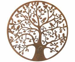 wall design ideas sculpture decorations tree of wall