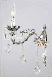 Crystal Wall Sconces Sconce C Home Wall Sconces With Hanging Crystals Crystal Wall