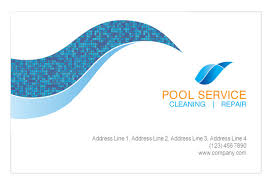 swimming pool cleaning print template pack from serif com