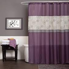 Temporary Shower Curtain Flower Shower Curtain Lime Green And Gray Modern Bathroom