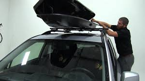 Subaru Forester 2014 Roof Rack by Review Of The Yakima Rocketbox Pro Roof Cargo Carrier On A 2015