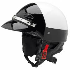 leather motorcycle helmet police motorcycle helmets dot certified intapol