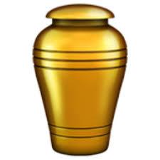 funeral urn funeral urn emoji u 26b1 u fe0f