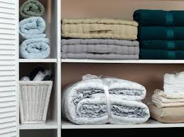 organizing your linen closet hgtv opt for adjustable shelves