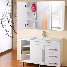 3 mirror medicine cabinet giantex 36 wide wall mount mirrored bathroom cabinet with 3 mirror