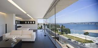 glass wall design for living room impressive glass walls in homes ideas 1731