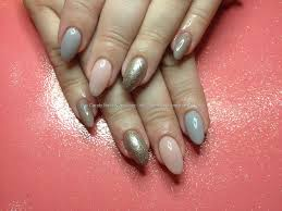 eye candy nails u0026 training acrylic nails with grey pink and
