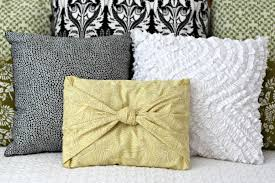 How To Make Sofa Pillow Covers Easy No Sew Pillow Cover Organize And Decorate Everything