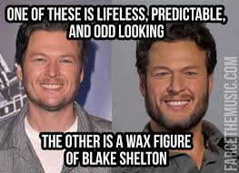 Blake Meme - farce the music monday morning memes luke bryan blake shelton