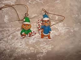 alvin chipmunks theodore and simon ornament miniature 1