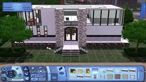 the sims 3 small modern house build youtube