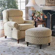 Recliner Chair With Ottoman Smith Brothers 932 Tilt Chair And Ottoman Wayside Furniture