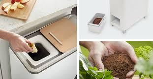 poubelle compost pour cuisine zera la poubelle qui composte les déchets en 24 heures