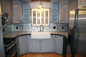 Kitchen Tin Backsplash Awe Inspiring Tin Backsplash For Kitchen Tin For Kitchen Ideas Tin
